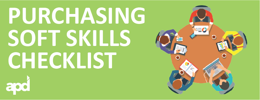 Squishy Mushy Checklist : Purchasing Soft Skills Checklist - APD Placement